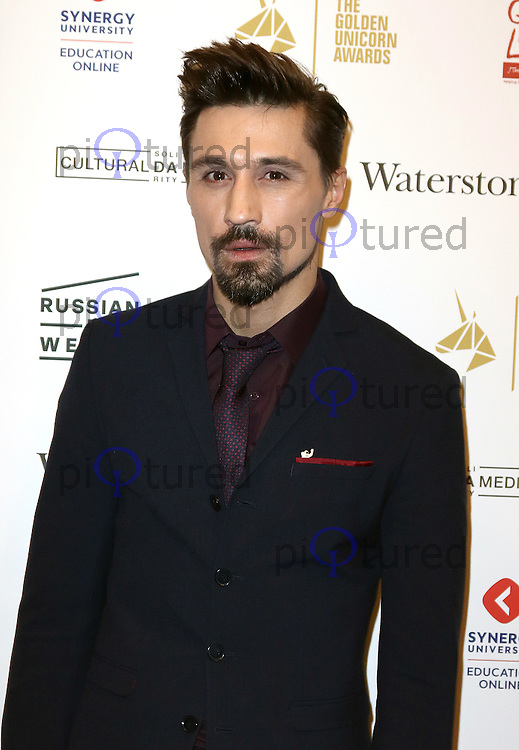 Dima Bilan, The Heritage Of Love - UK film premiere, Regent Street Cinema, London UK, 30 November 2016, Photo by Richard Goldschmidt