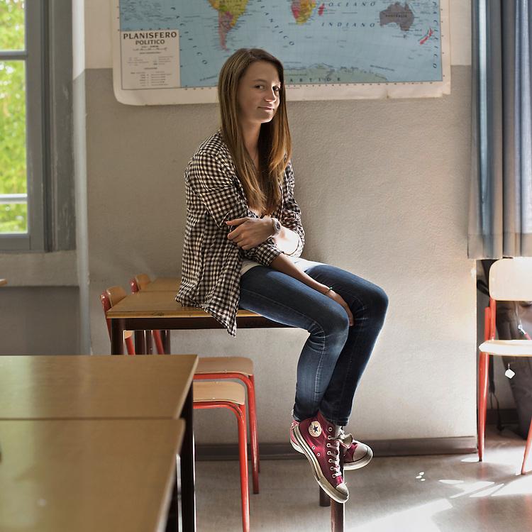 Preadolescents interviewed in a pubblic school of Milan, Italy.
