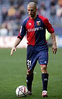 """Marco Di Vaio (Genoa)<br /> Italian """"Serie B"""" 2006-07<br /> 03 Mar 2007 (Match Day 26)<br /> Genoa-Lecce (1-0)<br /> """"Luigi Ferraris""""-Stadium-Genova-Italy<br /> Photographer: Luca Pagliaricci INSIDE"""