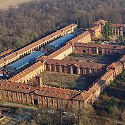 Il Borgo Castello situato all'interno del parco naturale La Mandria fu residenza sabauda a partire dagli anni '60 dell'Ottocento