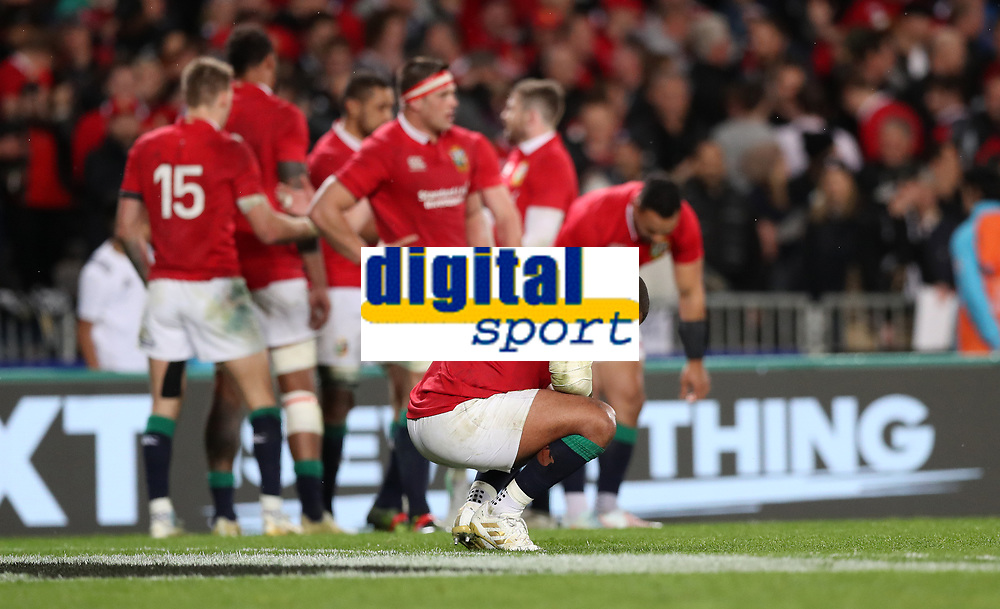 Rugby Union - 2017 British &amp; Irish Lions Tour of New Zealand - Third Test: New Zealand vs. British &amp; Irish Lions<br /> <br />  at Eden Park.<br /> <br /> COLORSPORT/LYNNE CAMERON