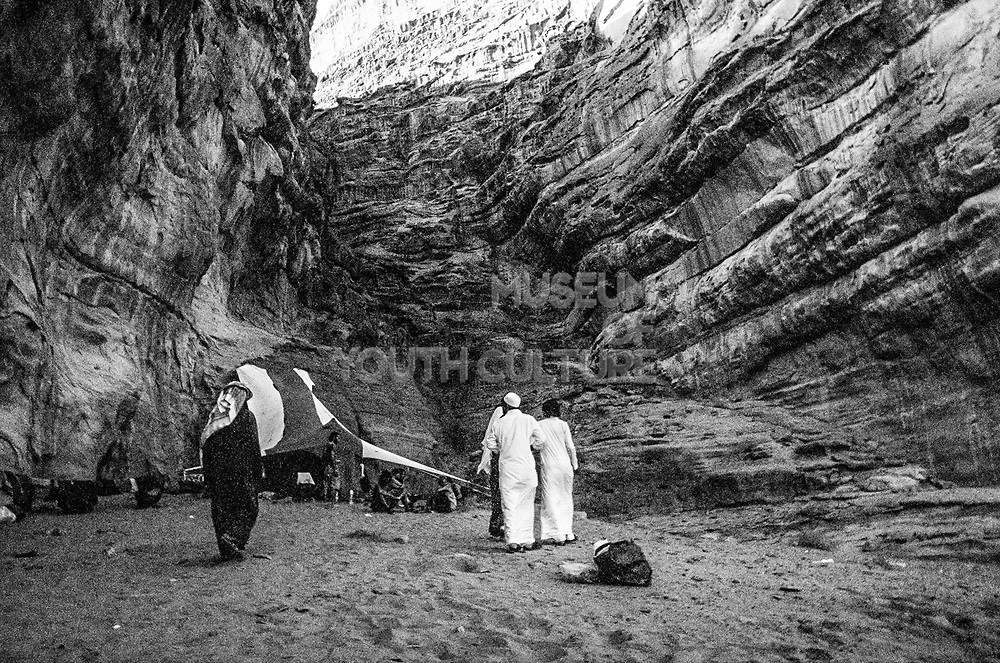 Men in traditional dress at Middle East Tek, Wadi Rum, Jordan, 2008