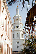 St Michael's Church in Charleston, SC.