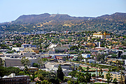 East Hollywood View from Downtown Los Angeles