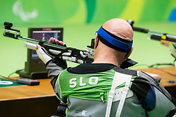 France Pinter - Ančo of Slovenia during Qualification of R3 - Mixed 10m Air Rifle Prone SH1 on day 3 during the Rio 2016 Summer Paralympics Games on September 10, 2016 in Olympic Shooting Centre, Rio de Janeiro, Brazil. Photo by Vid Ponikvar / Sportida