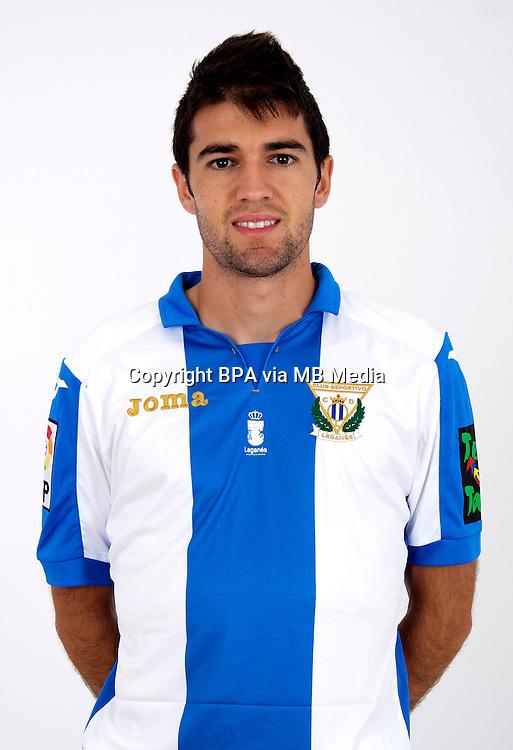Spain - La Liga Adelante 2015-2016 / <br /> ( C.D. Leganes  ) - <br /> Antonio Rodr&iacute;guez Dovale