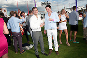 BLAISE PATRICK; TYRONE WOOD, After party at China White's club. Cartier International Day at Guard Polo Club, Windsor Great Park. 24 July 2011. ChinaWhite Tent during Cartier Polo. <br /> <br />  , -DO NOT ARCHIVE-© Copyright Photograph by Dafydd Jones. 248 Clapham Rd. London SW9 0PZ. Tel 0207 820 0771. www.dafjones.com.