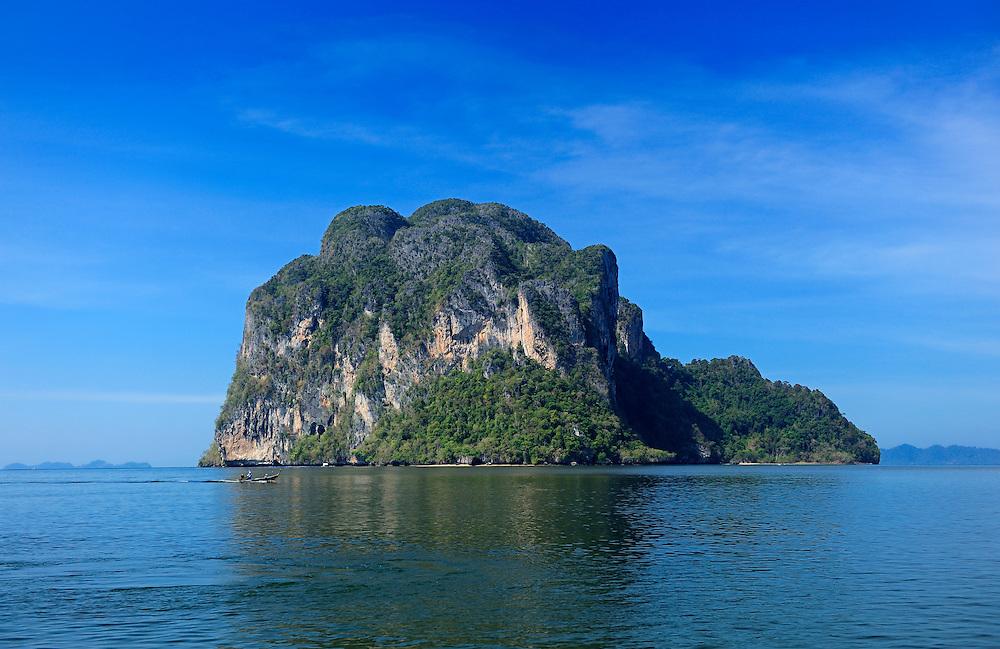 Islands at Pakmeng Beach, Andaman Sea, Thailand