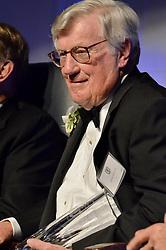 Harris Ashton '54, Honoree, Blue Leader '11, Yale University Athletics. Ball and Awards Presentation, Lanman Center, Payne Whitney Gymnasium.