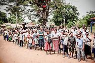Zongo, Repubblica Democratica del Congo, 08/03/2012<br /> La sfilata che viene organizzata annualmente nel villaggio di Zongo per celebrare la festa della donna. Alla manifestazione partecipano diverse associazioni e scuole.<br /> <br /> Zongo, Democratic Republic of Congo, 08/03/2012<br /> The parade organized every year in the town of Zongo, in Democratic Republic of Congo, to celebrate the Women's Day. Several associations and students take part in the ceremony.