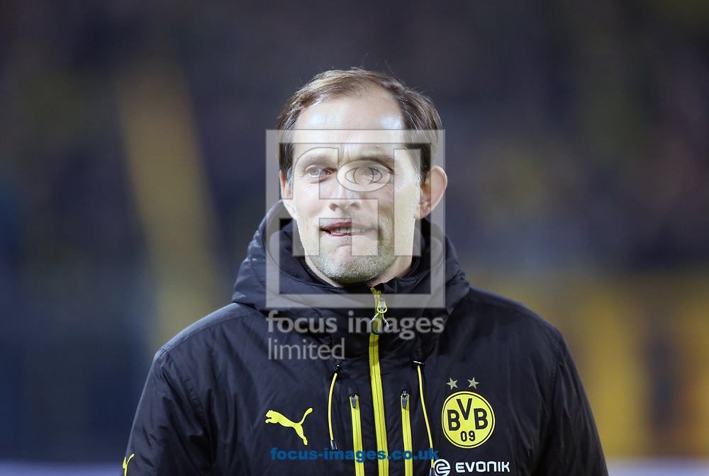 Thomas Tuchel, head coach of Borussia Dortmund and y of FC Ingolstadt 04 during the Bundesliga match at Signal Iduna Park, Dortmund<br /> Picture by EXPA Pictures/Focus Images Ltd 07814482222<br /> 17/03/2017<br /> *** UK &amp; IRELAND ONLY ***<br /> EXPA-EIB-170318-0070.jpg