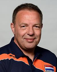 09-05-2014 NED: Selectie Nederlands zitvolleybal team mannen, Leersum<br /> In sporthal De Binder te Leersum werd het Nederlands team zitvolleybal seizoen 2014-2015 gepresenteerd / Paul Harmsen