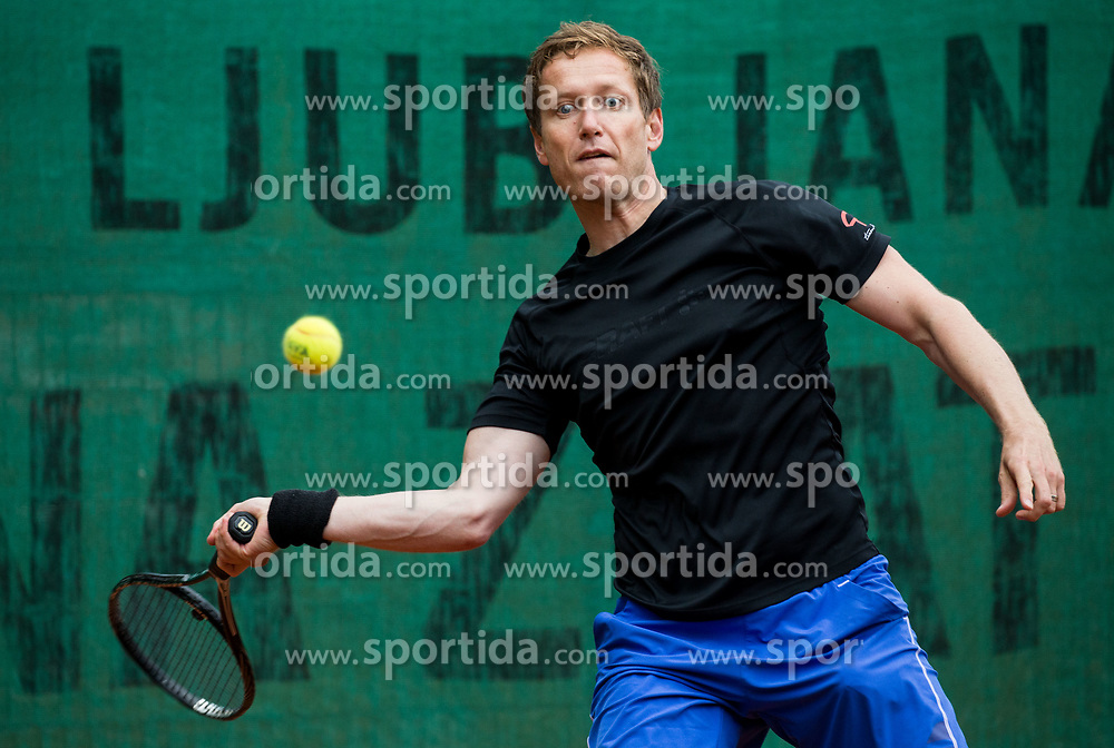 Uros Mesojedec  at Petrol VIP tournament 2018, on May 24, 2018 in Sports park Tivoli, Ljubljana, Slovenia. Photo by Vid Ponikvar / Sportida