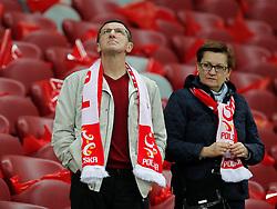 14.10.2014, Nationalstadium, Warsaw, POL, UEFA Euro Qualifikation, Polen vs Schottland, Gruppe D, im Bild KRZYSZTOF KOSSEDOWSKI // during the UEFA EURO 2016 Qualifier group D match between Poland and Scotland at the Nationalstadium in Warsaw, Poland on 2014/10/14. EXPA Pictures © 2014, PhotoCredit: EXPA/ Newspix/ Michal Chwieduk<br /> <br /> *****ATTENTION - for AUT, SLO, CRO, SRB, BIH, MAZ, TUR, SUI, SWE only*****