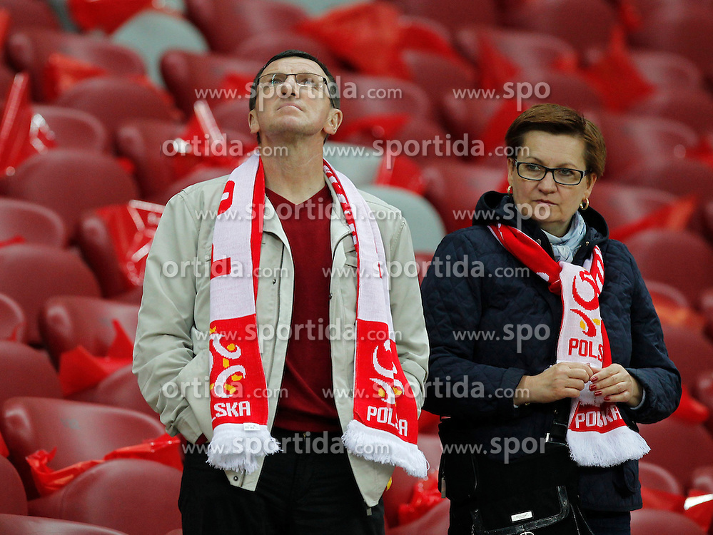 14.10.2014, Nationalstadium, Warsaw, POL, UEFA Euro Qualifikation, Polen vs Schottland, Gruppe D, im Bild KRZYSZTOF KOSSEDOWSKI // during the UEFA EURO 2016 Qualifier group D match between Poland and Scotland at the Nationalstadium in Warsaw, Poland on 2014/10/14. EXPA Pictures &copy; 2014, PhotoCredit: EXPA/ Newspix/ Michal Chwieduk<br /> <br /> *****ATTENTION - for AUT, SLO, CRO, SRB, BIH, MAZ, TUR, SUI, SWE only*****