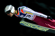 Piotr Zyla of Poland competes during FIS World Cup Ski Jumping in Wisla...Poland, Wisla, January 09, 2013...Picture also available in RAW (NEF) or TIFF format on special request...For editorial use only. Any commercial or promotional use requires permission...Photo by © Adam Nurkiewicz / Mediasport