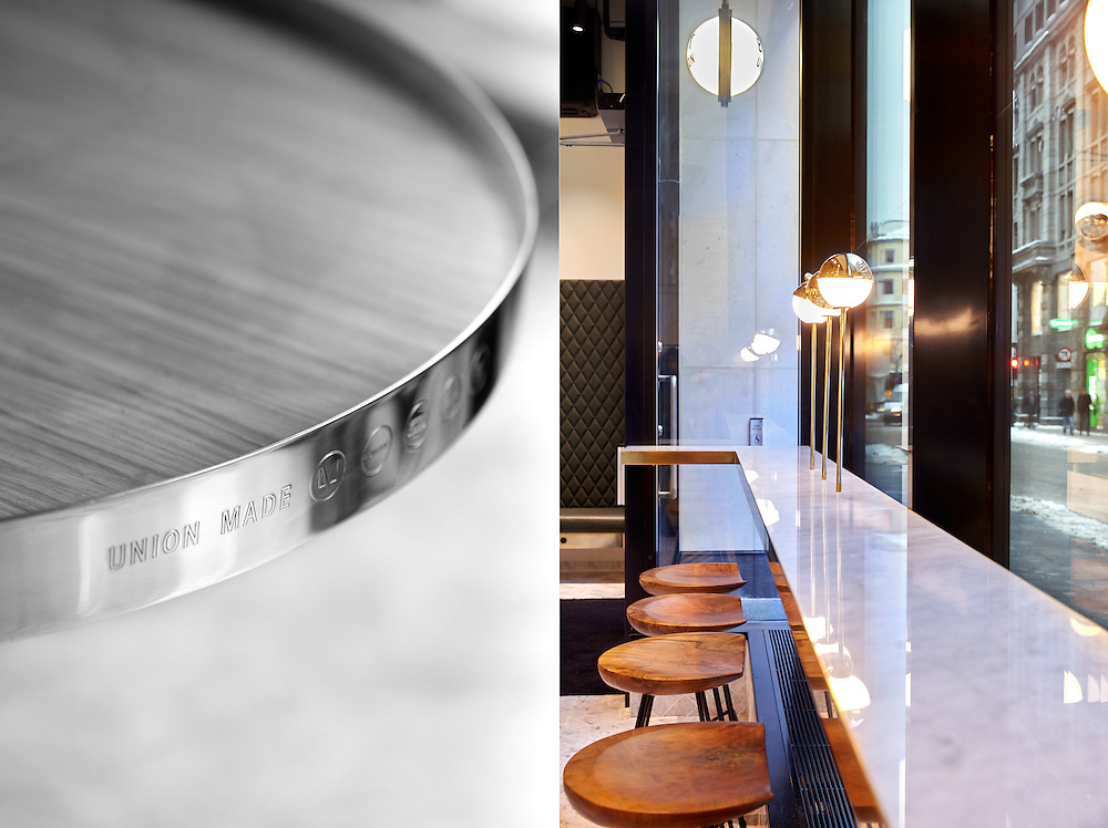 The new café BIT Union opened this week in Oslo.