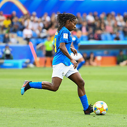 Formiga of Brazil during the Women's World Cup match between Australia and Brazil at Stade de la Mosson on June 13, 2019 in Montpellier, France. (Photo by Alexandre Dimou/Icon Sport)