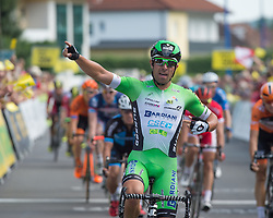 08.07.2016, Stegersbach, AUT, Ö-Tour, Österreich Radrundfahrt, 6. Etappe, Graz nach Stegersbach, im Bild Nicola Ruffoni (ITA, Bardiani CSF) // Nicola Ruffoni (ITA, Bardiani CSF) during the Tour of Austria, 6th Stage from Gratz to Stegersbach, Austria on 2016/07/08. EXPA Pictures © 2016, PhotoCredit: EXPA/ Reinhard Eisenbauer