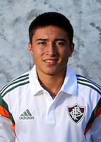 "Brazilian Football League Serie A / <br /> ( Fluminense Football Club ) - <br /> Bryan Olivera Calvo "" Bryan Olivera """