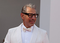 Actor Jeff Goldblum at the premiere gala screening of the film The Mountain at the 75th Venice Film Festival, Sala Grande on Thursday 30th August 2018, Venice Lido, Italy.