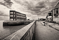 The decaying remains of St Andrews Dock Kingston upon Hull