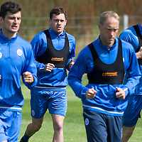 St Johnstone Training…29.07.16<br />Danny Swanson pictured during training this morning at McDiarmid Park<br />Picture by Graeme Hart.<br />Copyright Perthshire Picture Agency<br />Tel: 01738 623350  Mobile: 07990 594431