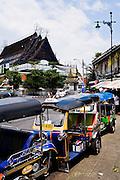 Near Wat Pho, Rattanakosin, Bangkok.