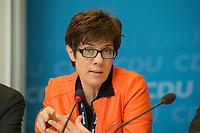 14 MAY 2013, BERLIN/GERMANY:<br /> Annegret Kramp-Karrenbauer, CDU, Ministerpraesidentin Saarland, CDU MediaNight-Fachtagung, Konrad-Adenauer-Haus<br /> IMAGE: 20130514-02-011
