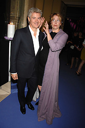 JOHN FRIEDA and EMMA THOMPSON at the 10th Anniversary Party of the Lavender Trust, Breast Cancer charity held at Claridge's, Brook Street, London on 1st May 2008.<br />
