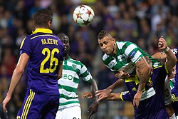 Maurício of Sporting during football match between NK Maribor and Sporting Lisbon (POR) in Group G of Group Stage of UEFA Champions League 2014/15, on September 17, 2014 in Stadium Ljudski vrt, Maribor, Slovenia. Photo by Matic Klansek Velej  / Sportida.com
