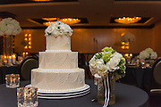 wedding cake by Tallmadge wedding photographer, Mara Robinson, Akron wedding photographer