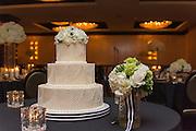 wedding cake by Tallmadge wedding photographer, Mara Robinson, Akron wedding photographer