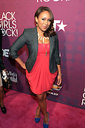 October 13, 2012- Bronx, NY: On Air-Personality Mara Schiavocampo at the Black Girls Rock! Awards Red Carpet presented by BET Networks and sponsored by Chevy held at the Paradise Theater on October 13, 2012 in the Bronx, New York. BLACK GIRLS ROCK! Inc. is 501(c)3 non-profit youth empowerment and mentoring organization founded by DJ Beverly Bond, established to promote the arts for young women of color, as well as to encourage dialogue and analysis of the ways women of color are portrayed in the media. (Terrence Jennings)