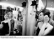 Philip Treacy. Elizabeth St. London SW1. 7/2/99.<br />© Copyright Photograph by Dafydd Jones<br />66 Stockwell Park Rd. London SW9 0DA<br />Tel 0171 733 0108