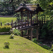 Once the private domain of the silk baron Hara Sankei, one of Japanís most exquisite gardens was opened to the public in 1904. Hara wished to share the beauty of his bounty by opening up his grounds, surely one of the worldís most beautiful examples of benevolent capitalism. The cherry blossoms in spring and maple leaves in autumn make Sankeien a favorite spot in Yokohama for residents and visitors alike. Besides the landmark three-storied pagoda, koi ponds, streams and an elegant feudal lordís residence, numerous tea houses are scattered through the expanse.