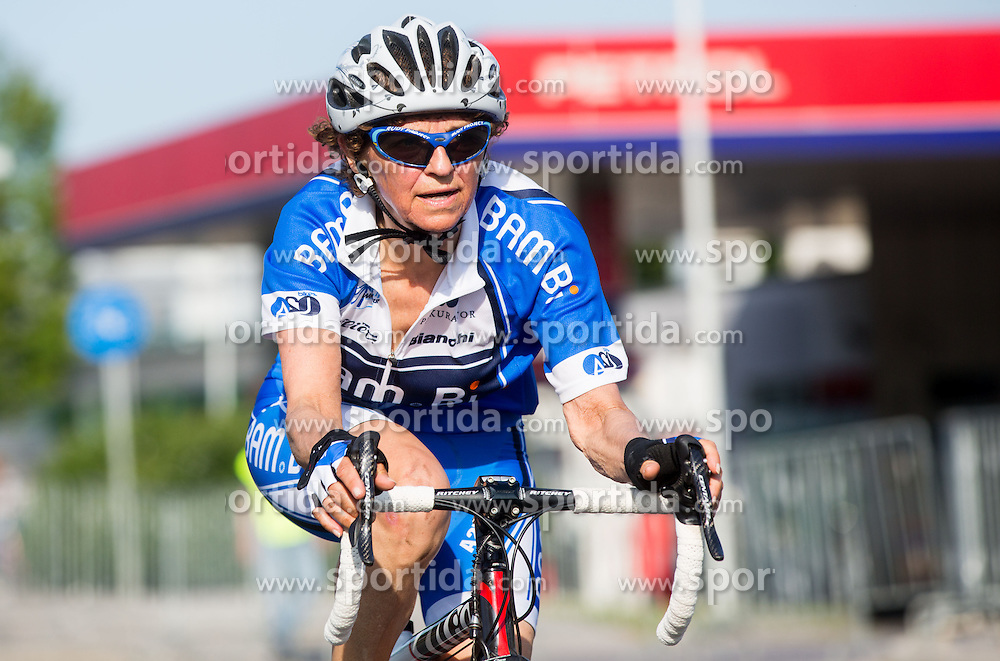 Tina Usenicnik competes during Slovenian national individual Time Trial Championship at cycling Marathon Franja BTC City 2014 on June 4, 2014 in BTC, Ljubljana, Slovenia. Photo by Vid Ponikvar / Sportida