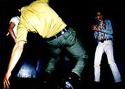 Men Dancing At Northern Soul Club