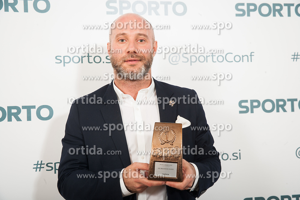 Ranko Vucinic (KHL Medvescak communications) during Sports marketing and sponsorship conference Sporto 2015, on November 19, 2015 in Hotel Slovenija, Congress centre, Portoroz / Portorose, Slovenia. Photo by Vid Ponikvar / Sportida