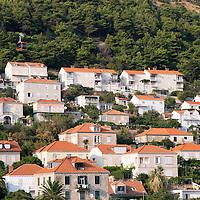 Scene in the UNESCO World Heritage Site of Dubrovnik's Old Town on the Dalmatian Coast in Croatia.
