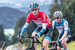 12.07.2019, Kitzbühel, AUT, Ö-Tour, Österreich Radrundfahrt, 6. Etappe, von Kitzbühel nach Kitzbüheler Horn (116,7 km), im Bild Gesamtführender Ben Hermans (Israel Cycling Academy, BEL) // overall leader Ben Hermans (Israel Cycling Academy BEL) during 6th stage from Kitzbühel to Kitzbüheler Horn (116,7 km) of the 2019 Tour of Austria. Kitzbühel, Austria on 2019/07/12. EXPA Pictures © 2019, PhotoCredit: EXPA/ JFK