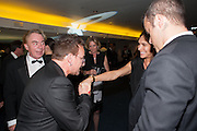 BONO; AYDA FIELD; ROBBIE WILLIAMS, 2012 GQ Men of the Year Awards,  Royal Opera House. Covent Garden, London.  3 September 2012