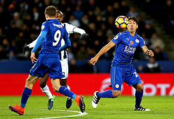 Leonardo Ulloa of Leicester City controls the ball - Mandatory by-line: Robbie Stephenson/JMP - 06/11/2016 - FOOTBALL - King Power Stadium - Leicester, England - Leicester City v West Bromwich Albion - Premier League