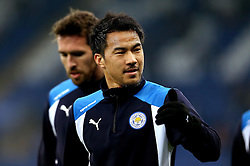 Shinji Okazaki of Leicester City - Mandatory by-line: Robbie Stephenson/JMP - 31/12/2016 - FOOTBALL - King Power Stadium - Leicester, England - Leicester City v West Ham United - Premier League
