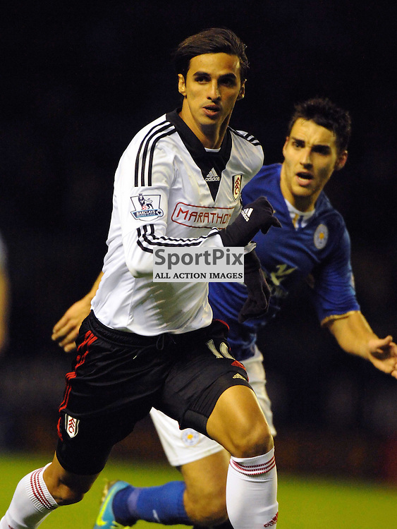 Bryan Ruiz Fulham, Leicester City v Fulham, Capital One Cup, 29th October 2013