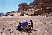 People at Middle East Tek, Wadi Rum, Jordan, 2008