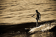 Male Paddle Boarder
