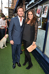 BEN & ELLE CARING at A Date With Your Dog At George in aid of the Dogs Trust held at George, 87-88 Mount Street, London on 9th September 2014.