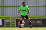 Forest Green Rovers Farrend Rawson(6) on the ball during the Pre-Season Friendly match between Forest Green Rovers and Leeds United at the New Lawn, Forest Green, United Kingdom on 17 July 2018. Picture by Shane Healey.