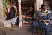 In the bazar, Thamel.